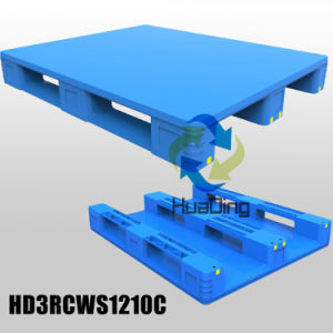 1200*1000 Environmentally Friendly Smooth Deck Plastic Pallet From China pictures & photos