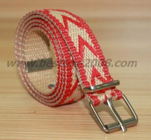 Spun Polyester Webbing Belt #1501-21 pictures & photos