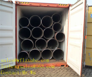 API 5L Pipeline, Natrual Gas ERW Pipe, Natural Gas Tube pictures & photos