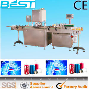 Best-Fgdt100 Automatic Seamer Sided Labeling Machine