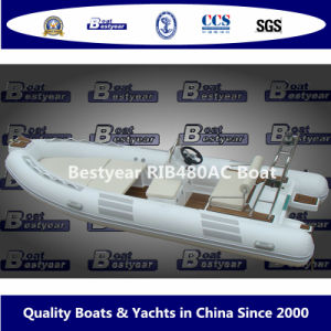 Bestyear Inflatable Fishing Boat of Rib480AC pictures & photos