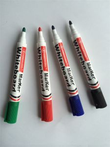 High Quality 4 Colors Round Tip Dry Eraser Marker Pen pictures & photos