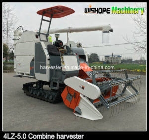 Supply 360 Degree Unloading Uager Soybean Combine Harvester 4lz-5.0z pictures & photos