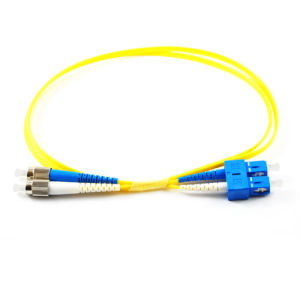 Single Mode Simplex 9/125 St-Sc Fiber Optic Jumpers pictures & photos