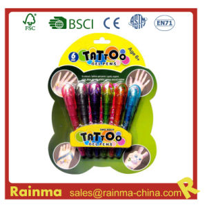 Tattoo Gel Ink Pen with En71 and ASTM Certificate pictures & photos