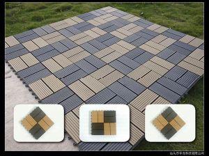 Outdoor Garden Plastic Wood Composite Tile pictures & photos