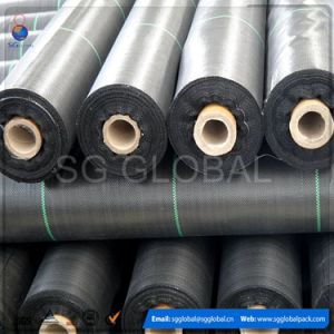 High Quality UV Treated Black Polypropylene Woven Ground Cover pictures & photos