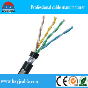 Manufacturer 23 AWG UTP Cat. 6 LAN Cable, UTP Cat. 5e LAN Cable 24 AWG/4p pictures & photos