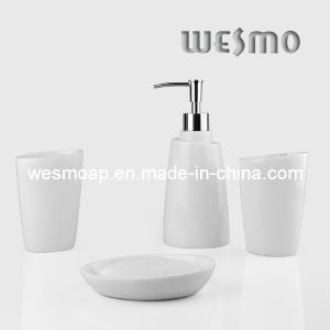 White Polyresin Bath Accessory (WBP0276A) pictures & photos