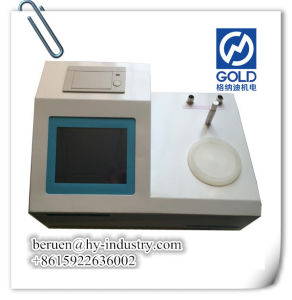 LCD Display Coulometric Karl Fischer Titrator pictures & photos