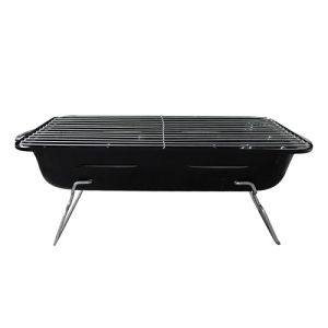Black Square BBQ Charcoal Grill