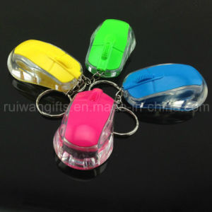 Mini Car LED Flashlight Keychain (LKC004) pictures & photos