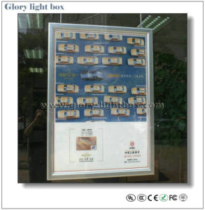 Double Side Advertising Slim Light Box Display (CB012) pictures & photos