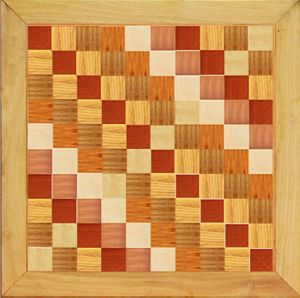 Teak Ash Mahogany Art Parquet Wood Flooring pictures & photos
