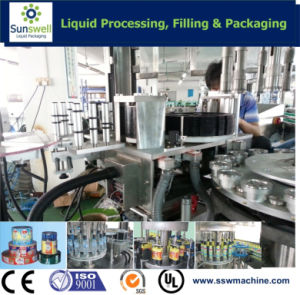 Hot Glue Labeling Machine for Beverage Bottles pictures & photos