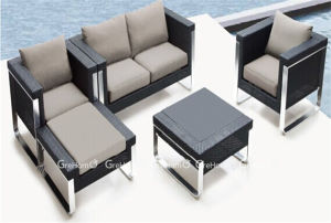 Commercial Patio Rattan Sofa for Hotel
