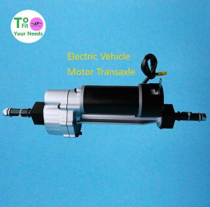 Small Vehicle Electric Transaxle Transmission Motor
