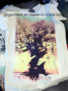 Promotion Men Printing T-Shirt with Cotton Fabric