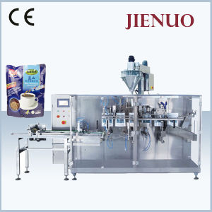 Jienuo Horizonta Pre-Made Bag Coffee Powder Packing Machine pictures & photos