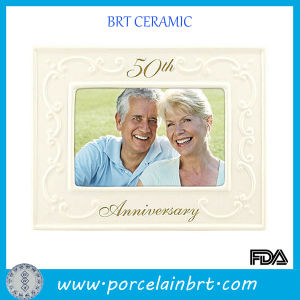 Golden Wedding Anniversary Photo Frame pictures & photos