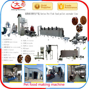 Big Capacity Pet Food Pelleting Extruder pictures & photos