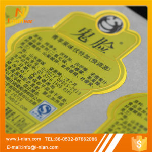 Custom Alcoholic Drink Bottle Sticker pictures & photos