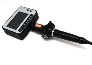 8.0mm Handheld Industrial Videoscope with 4-Way Articulation, 5.0′′ TFT LCD, 5.0m Testing Cable