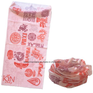 Factory Produce Customized Logo Printed Sports Polyester Neck Tubular Headwear Scarf pictures & photos