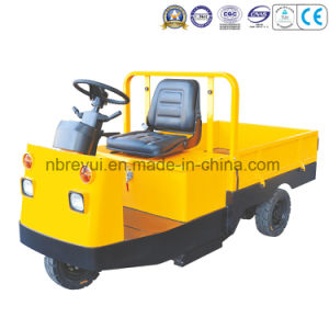 3 Wheels Platform Electric Tractor Truck pictures & photos