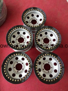 for Jeep Car 4X4 off Road Real Beadlock Steel Wheel Rims pictures & photos