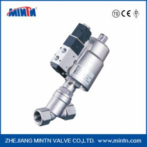 Piston Valve Operated Angle Seat Valves for Neutral and Acid Liquids and Gas Flow Above/Below The Seat