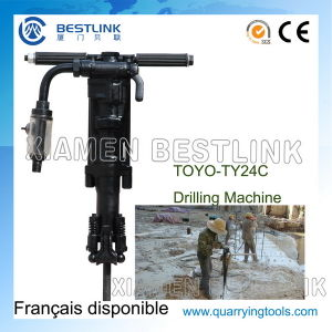 Toyo Ty24c Portable Pneumtatic Jack Hammer for Rock Drill pictures & photos