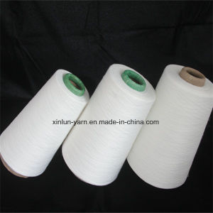 Pure Virgin 100% Polyester Spun Knitting Yarn (20-40s) pictures & photos