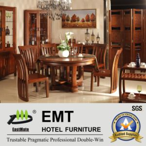 Excellent Round Wooden Dining Furniture (JA-C-1003) pictures & photos