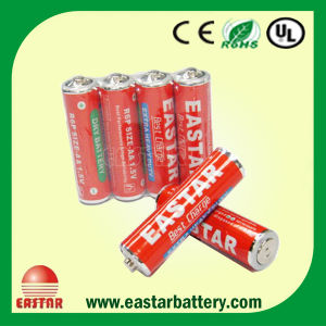 Carbon Zinc R6 AA Dry Battery (R6 AA) pictures & photos