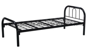 Low Price Strong Metal Steel Iron Single Bed for School pictures & photos
