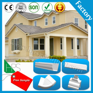 Easy Installation PVC Rainwater Roof Gutter Rain Chain Lowes PVC Square Water Gutter pictures & photos