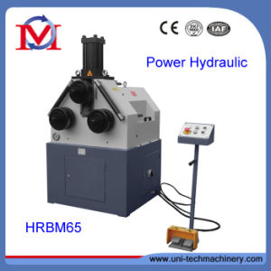 China Factory Hydraulic Round Bending Machine (HRBM65) pictures & photos