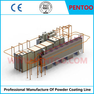Powder Coating Line for Painting Heavy Fittings with Good Quality pictures & photos