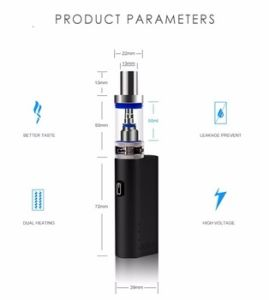 2017 Jomo Popular Electronic Cigarette Lite 40 Vaporizer pictures & photos
