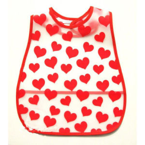 Easily Carry Size Adjustable EVA Baby Bib pictures & photos