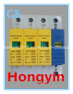 High Quality Ly1- D20 Surge Lightning Arrester SPD pictures & photos