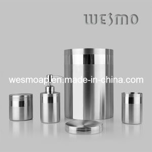 Satin Stainless Steel Bath Set (WBS0617A) pictures & photos