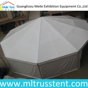 Aluminum Frame White PVC Wall Decagonal Events Pagoda Tent pictures & photos