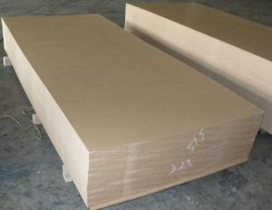 Raw MDF Wood Panels pictures & photos