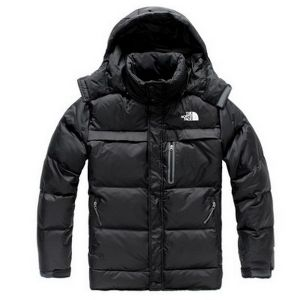 Black Warm Winter Clothes, Outer Wear, Black Down Jacket pictures & photos