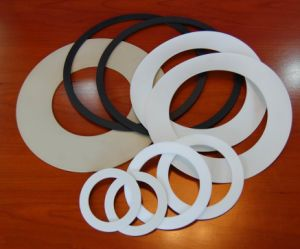 Gasket of PTFE Peek Nylon pictures & photos