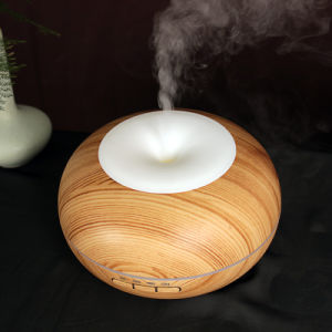 2017 Best Selling Wood Grain Essential Oil Diffuser Ultrasonic 300ml Aroma Diffuser pictures & photos
