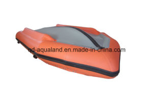 Aqualand 17feet Semi-Rigid Inflatable Boat/Aluminum Foldable Deck Rubber Boat (500) pictures & photos
