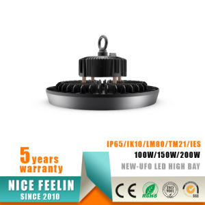 Competitive Price 130lm/W 200W UFO Type LED High Bay pictures & photos